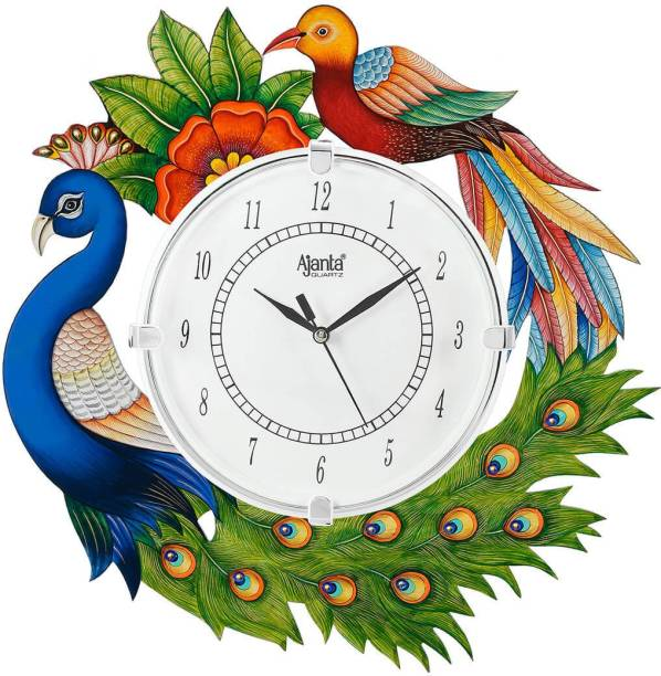 AJANTA Analog 35 cm X 35 cm Wall Clock