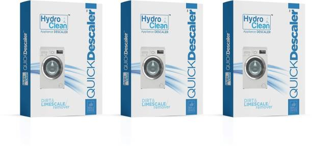 hydro clean Appliance Descaler Dirt and Limescale remover 100 gm. (Pack of 3) Detergent Powder 300 g