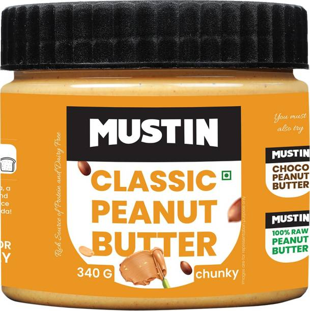 Mustin Classic Peanut Butter Chunky 340 g