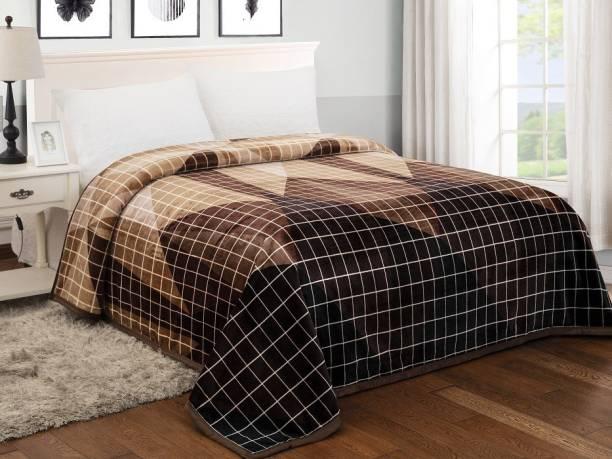 Signature Checkered Single AC Blanket