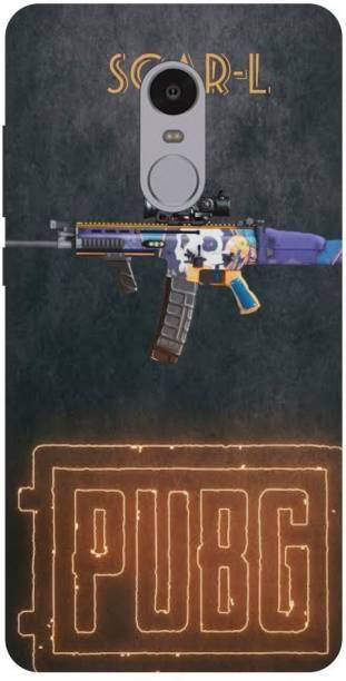 Snapcrowd Back Cover for Mi Redmi Note 4 Pubg Scra-l Gun back cover