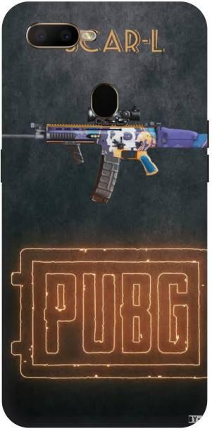 Snapcrowd Back Cover for Oppo A5s Pubg Scra-l Gun back cover