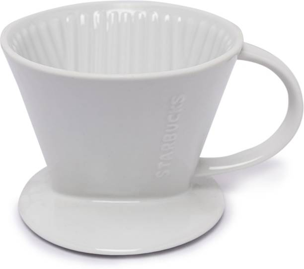 Starbucks Ceramic Pour Over (Coffee Brewing Equipment) NA Cups Coffee Maker