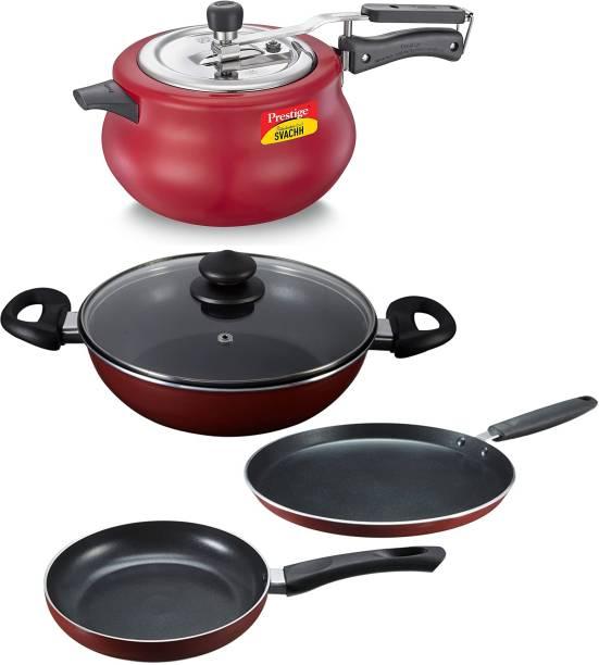 Prestige Induction Bottom Cookware Set