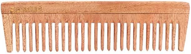 WOODYKRAFT Handmade Neem Wood Anti-Dandruff Ecofriendly Comb For Men And Women