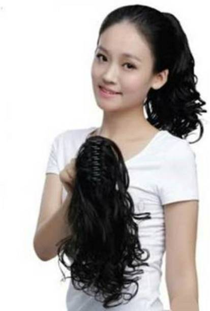 Vedica Beautiful Curly  extension for girls Hair Extension