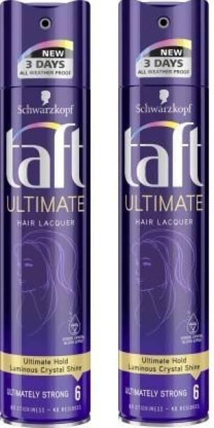 TAFT Ultimate Hair Spray 250 ml*2 Pcs Hair Spray