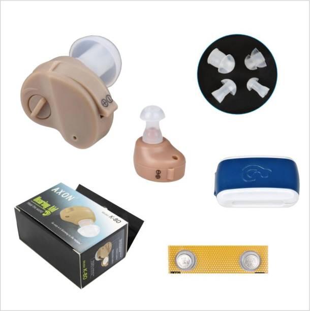 klenny K-80 Machine Sound Amplifier in the Ear Hearing Aid(Beige) k-ite-01 in the Ear Hearing Aid