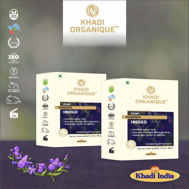 khadi ORGANIQUE 100 % Pure Indigo Powder