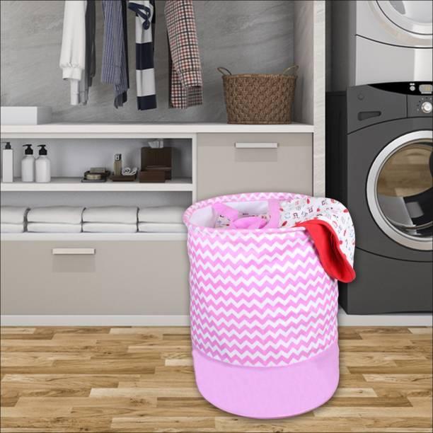 Flipkart SmartBuy 58 L Pink Laundry Basket