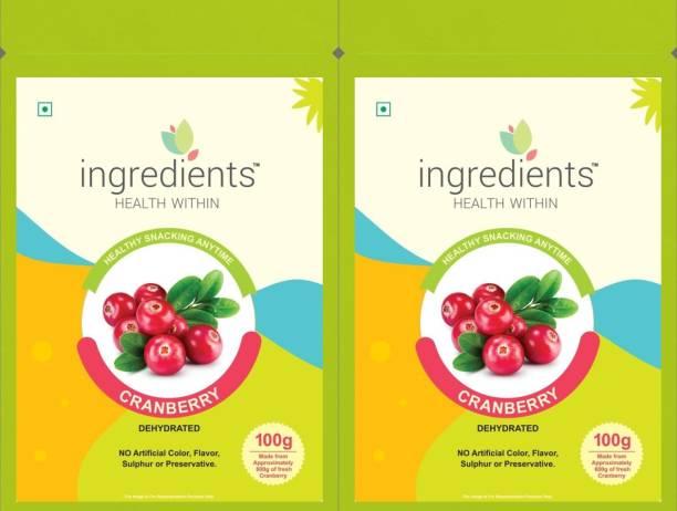 INGREDIENTS Cranberry Cranberries