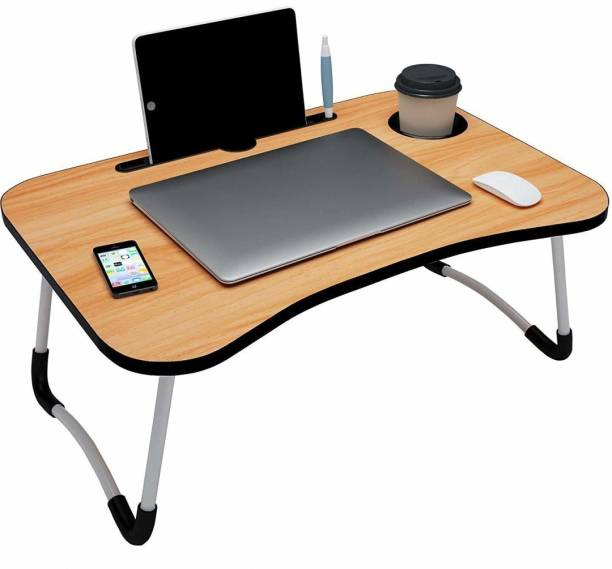 SHOPY ZONE Wood Portable Laptop Table