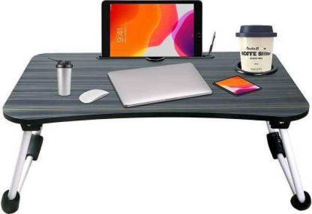 jencuz grey black laptop table Wood Portable Laptop Table