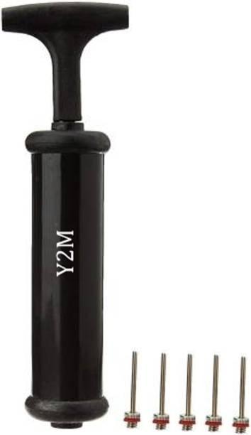 Y2M Football Pump , Basketball Pump, Volley ball Pump with 5 needle Football Pump, Volleyball Pump, Basketball Pump, Handball Pump Pump