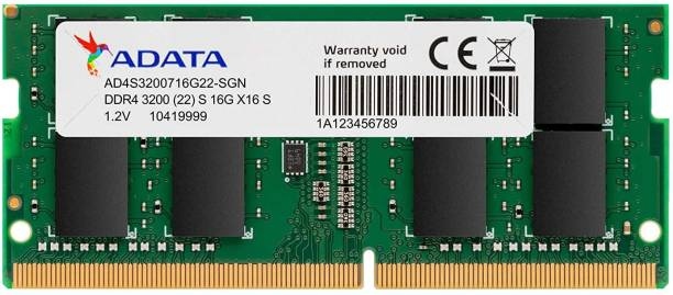 ADATA AD4S320038G22-RGN DDR4 8 GB Laptop (8GB DDR4 modules for notebooks 3200MHZ Laptop Memory)