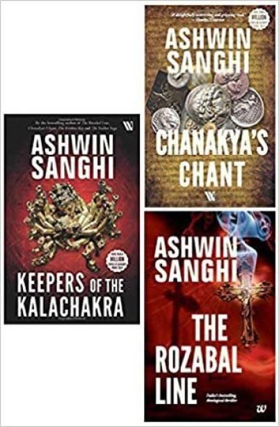 Bharat Series: Rozabal Line, Chanakya's Chant, Keepers Of The Kalachakra