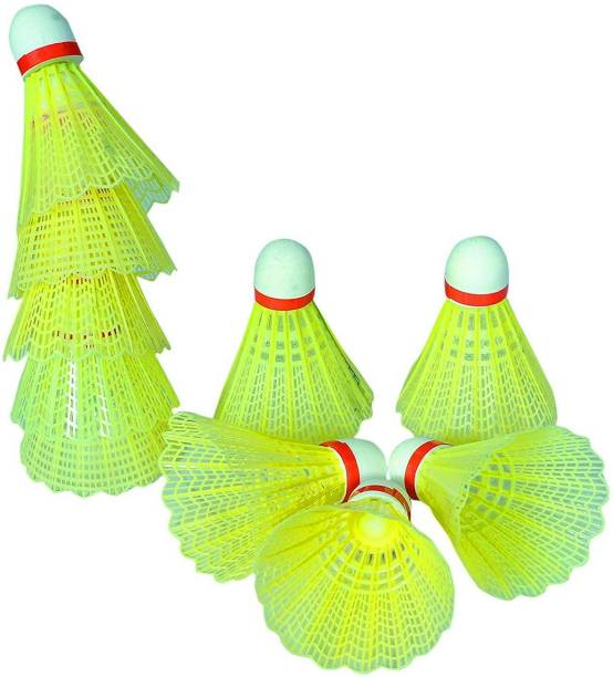 RIO PORT Plastic Badminton Shuttlecock || Pack of 10|| Plastic Shuttle  - Green