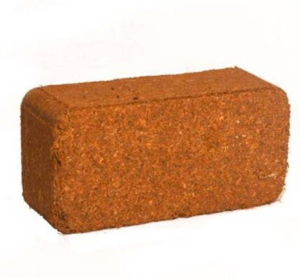 RG DECOR COCOPEAT 1 Brick ( coirpith or coco fibre) for kitchen and terrace gardening Manure Manure