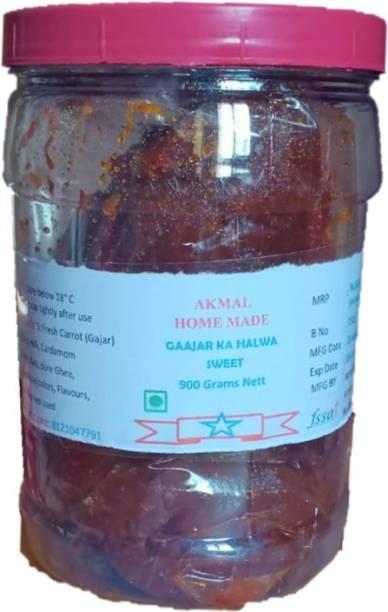 Akmal Gaajar Ka Halwa made with Jaggery and Pure Desi Ghee Pouch