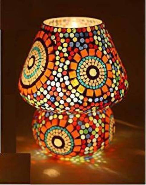 ONECYA MULTI TABLE LAMP Table Lamp (16 cm, Multicolor) Table Lamp