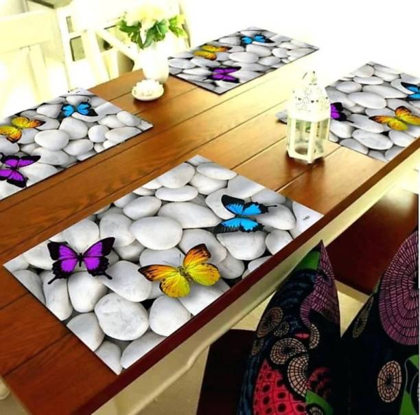 WONDERLAND Multicolor PVC Table Linen Set