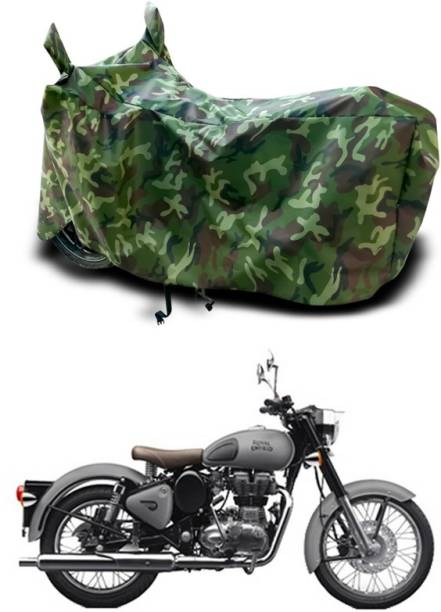 SEBOMGO Two Wheeler Cover for Royal Enfield