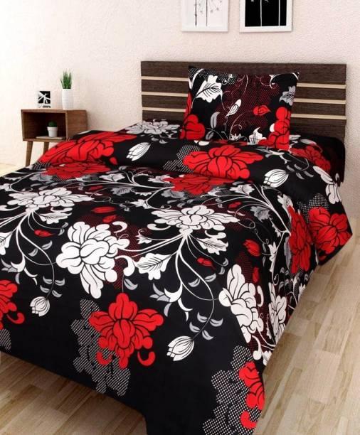 Chitra 144 TC Polycotton Double Printed Bedsheet