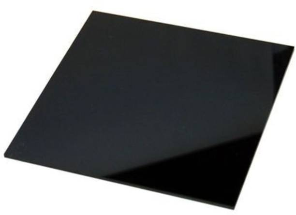 Signkart Acrylic Sheet Plain Black 30 x 30 cm, 2 mm 30 cm Acrylic Sheet