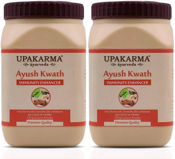 UPAKARMA Ayurveda Ayush Kwath Kadha Powder for Immunity Booster(Pack of 2)