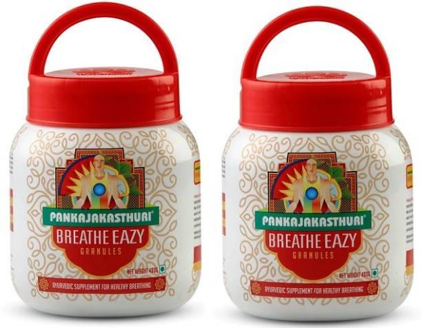 PANKAJAKASTHURI BREATH EAZY 400GMS X 2Nos