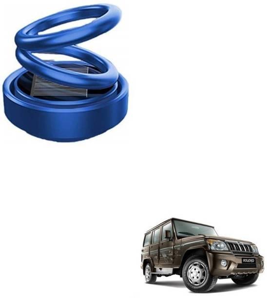 Auto Smart Look ASL1810 Car Solar Ring Air Freshener Double Loop Rotary Air Conditioner Dashboard Air Freshener Perfume Blue For Mahindra Bolero Air Purifier