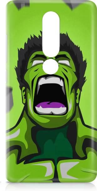 Accezory Back Cover for Oppo F11 Back Cover-CAPTAIN AMERICA-IRON MAN-AVENGERS-HULK-BACK CASE