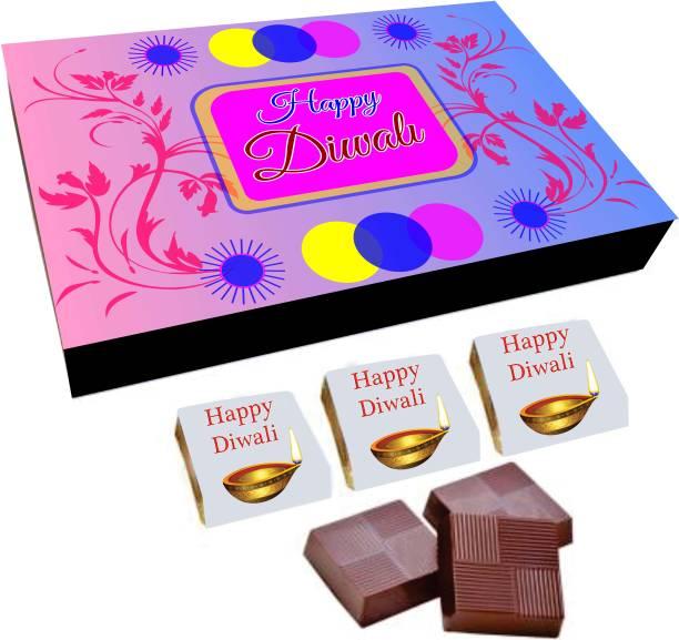 Regallo Best Diwali Wishes 12Pcs Chocolate Box DC15 Truffles