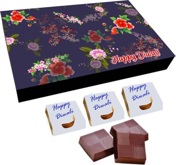 Regallo Best Diwali Wishes 18Pcs Chocolate Box DC30 Truffles