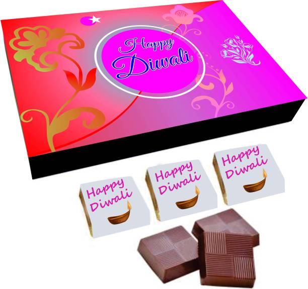 Regallo Best Diwali Wishes 18Pcs Chocolate Box DC8 Truffles
