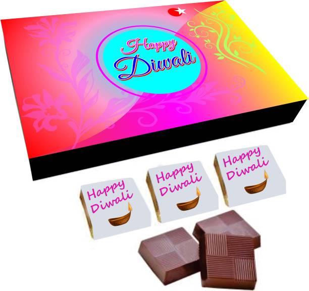 Regallo Best Diwali Wishes 18Pcs Chocolate Box DC11 Truffles