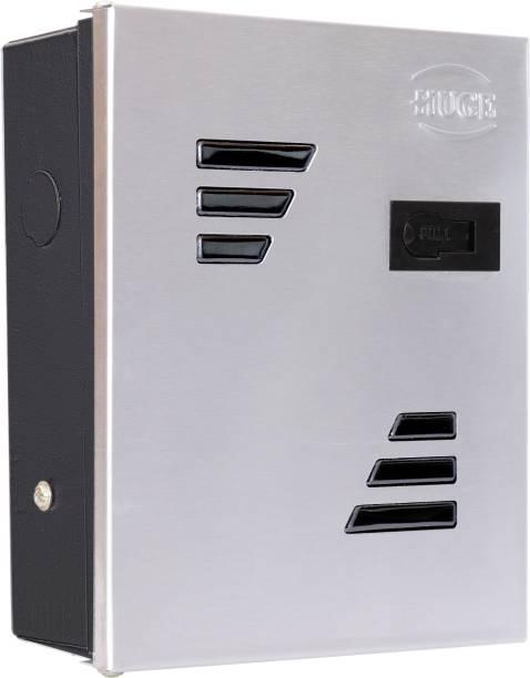 Huge 6 Way SPN MCB Box, Double Door MCB Distribution Board, Stainless Steel Distribution Board