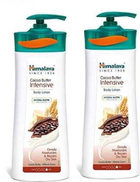 HIMALAYA cocoa butter intensive Body Lotion 400ml X 2