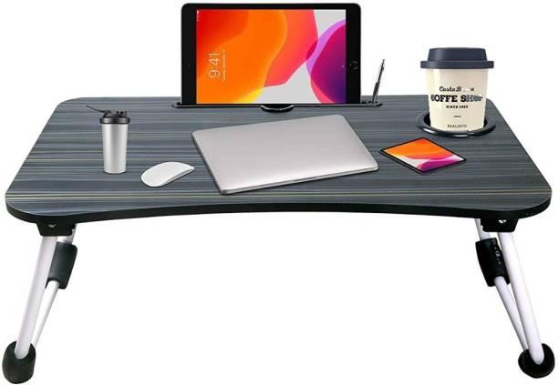 SHV Designer Wood Portable Laptop Table