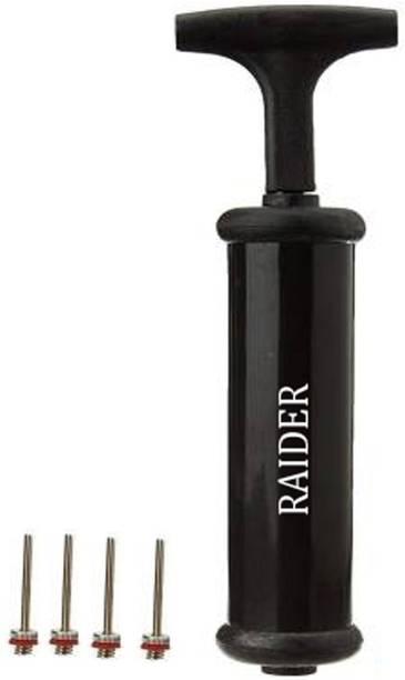 Raider Football Pump , Basketball Pump, Volley ball Pump with 4 needle Football Pump, Volleyball Pump, Basketball Pump, Handball Pump Pump