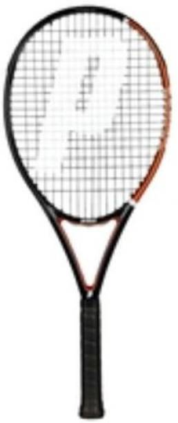 PRINCE Tennis Racquets RECREATIONAL Thunder Strike 110 (BK/CO) Black, Orange Strung Tennis Racquet