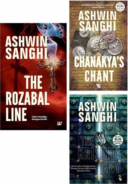 Bharat Series By Ashwin Sanghi (Rozabal Line, Chanakya's Chant, The Krishna Key