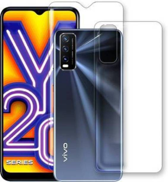 PR SMART Front and Back Tempered Glass for Vivo Y20i