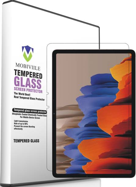 MOBIVIILE Tempered Glass Guard for Samsung Galaxy Tab S7