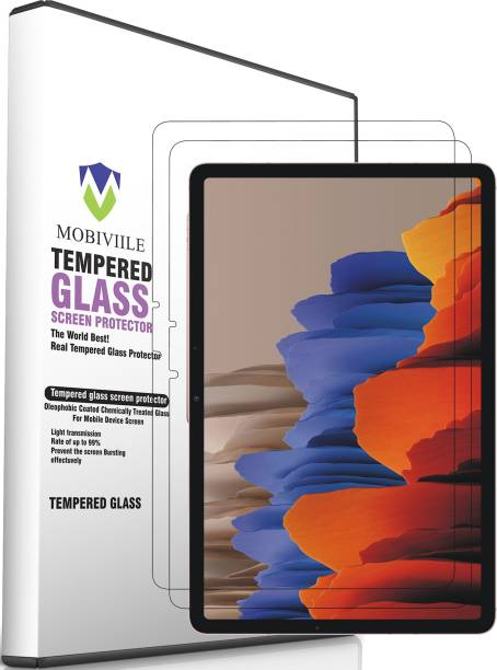 MOBIVIILE Tempered Glass Guard for Samsung Galaxy Tab S7 11 inch T870, T875, T876B