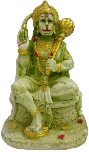 FABZONE Lord Mahavir Hanuman Idol/Bajrangbali Sculpture Decor God Statue Decorative Showpiece  -  20 cm
