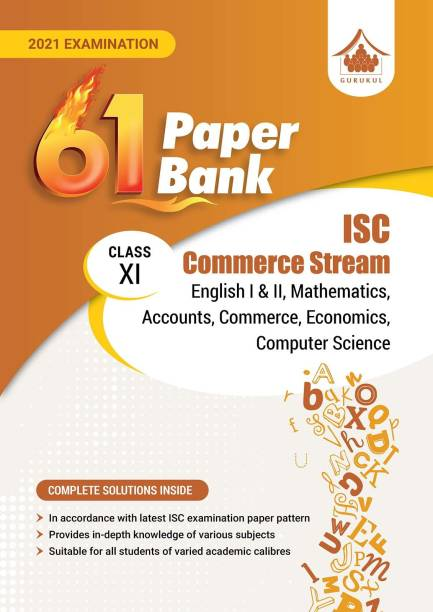 61 Paper Bank - Commerce Stream: ISC Class 11 for 2021 Examination