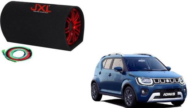 "JXL BASS TUBE MODEL 1063 10"" with INBUILT AMPLIFIER 5400 WATT + CAR AMPLIFIER INSTALLATION KIT Subwoofer For Suzuki Ignis(Powered , RMS Power: 420 W) Two Class AB Car Amplifier"