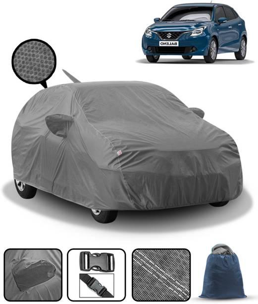 FABTEC Car Cover For Maruti Suzuki Baleno (With Mirror Pockets)