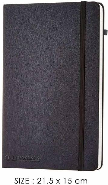 Jhingalala Handcrafted A5 Note Pad Ruled 166 Pages